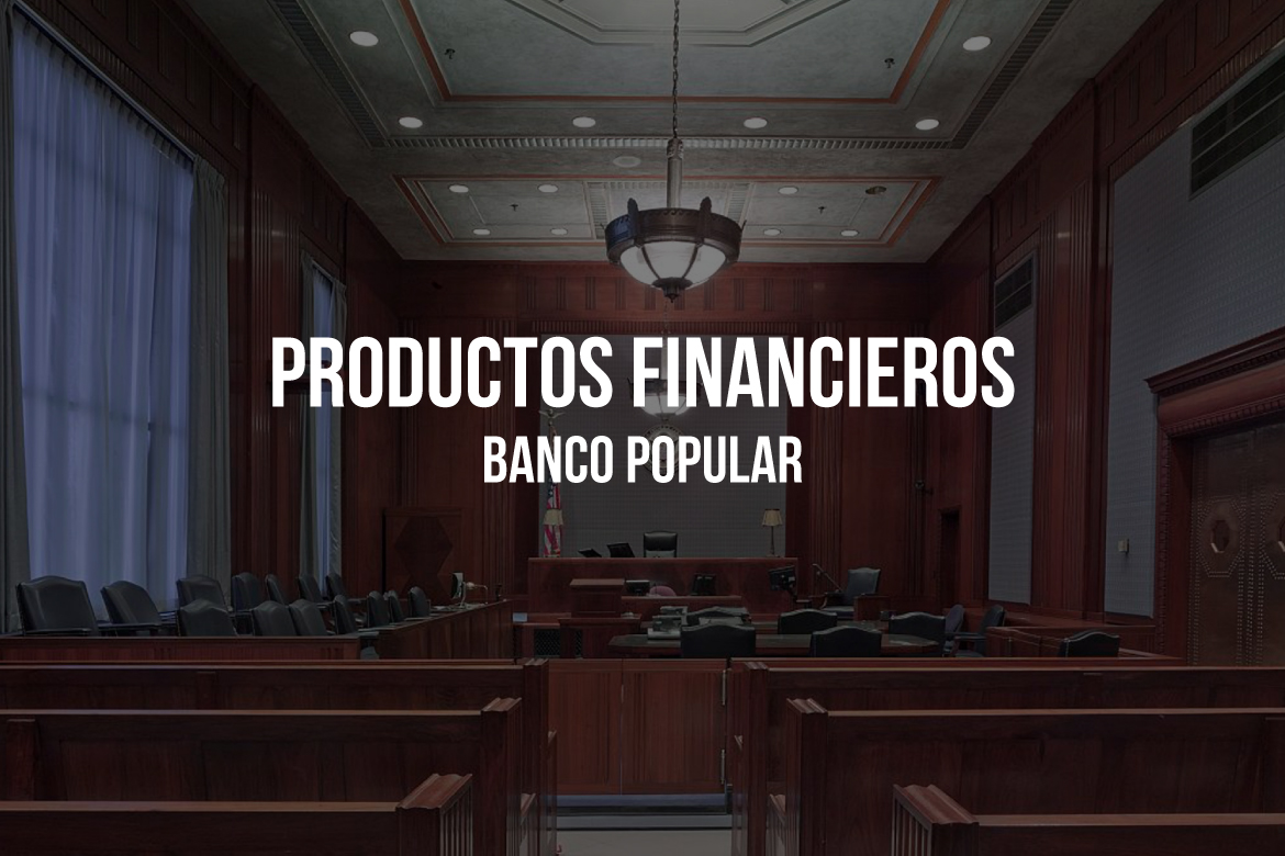 Banco Popular multado por infracciones graves en productos financieros.