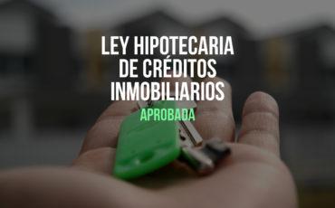 Ley hipotecaria con ahorro de hasta 1000 euros en gastos