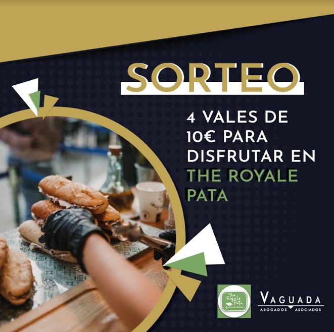 "Bases legales del Sorteo ""The Royale Pata"""